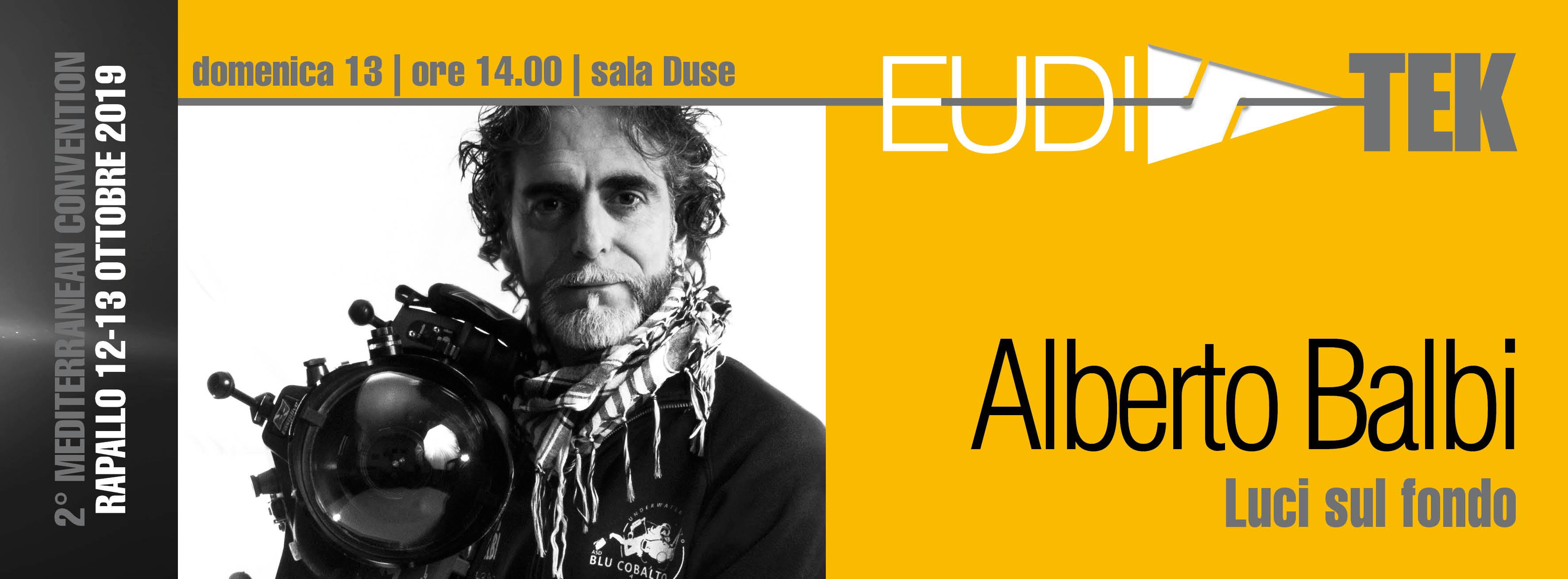 Conferenza Alberto Balbi