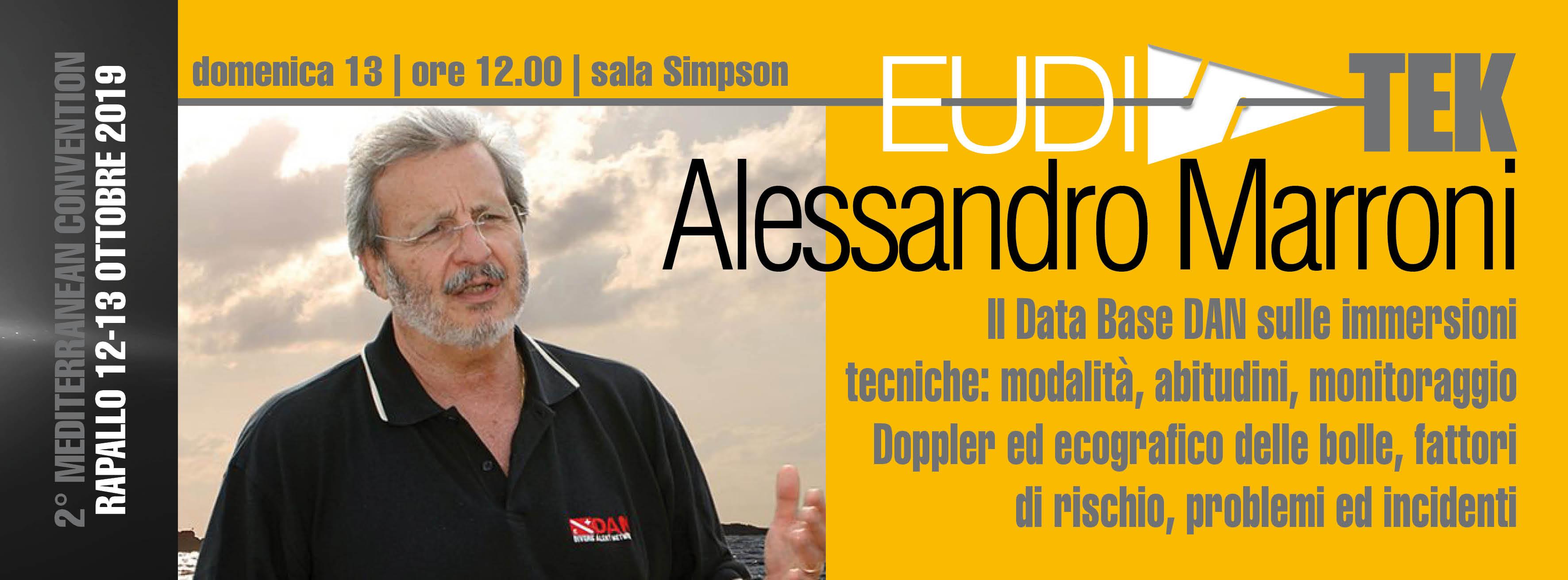 Conferenza Alessandro Marroni