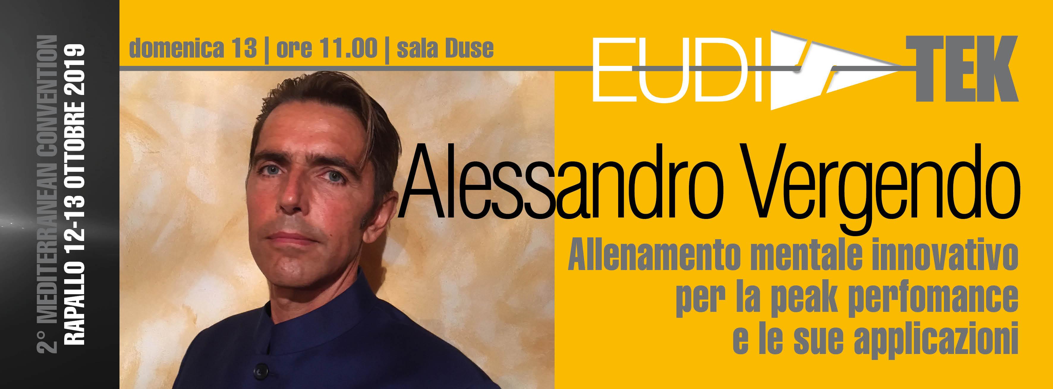 Conferenza Alessandro Vergendo